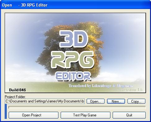 3d rpg editor 3d editor