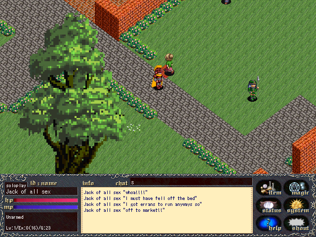 Tutorial RPG Maker VX Ace: Crear Personajes: Programa
